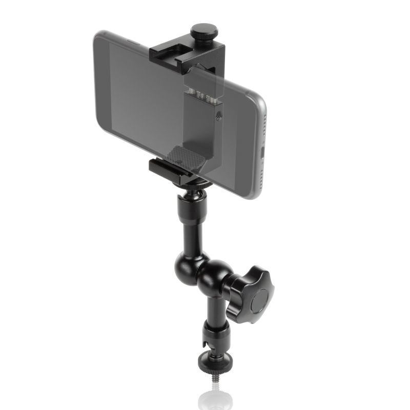 SMARTPHONE ALUMINUM CLAMP 7'' MAGIC ARM
