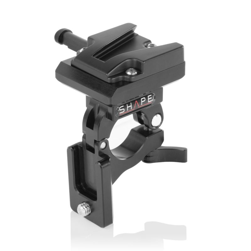 SHAPE V-MOUNT BATTERY DOCK CLAMP FOR 25MM GIMBAL HANDLEBAR