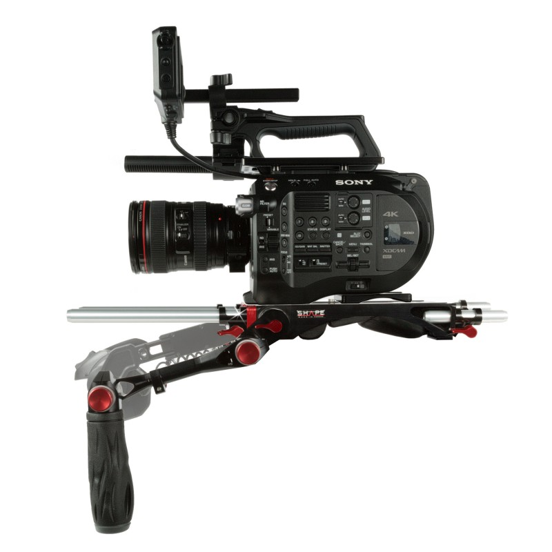 SHAPE Sony FS7M2 Baseplate und Top Plate