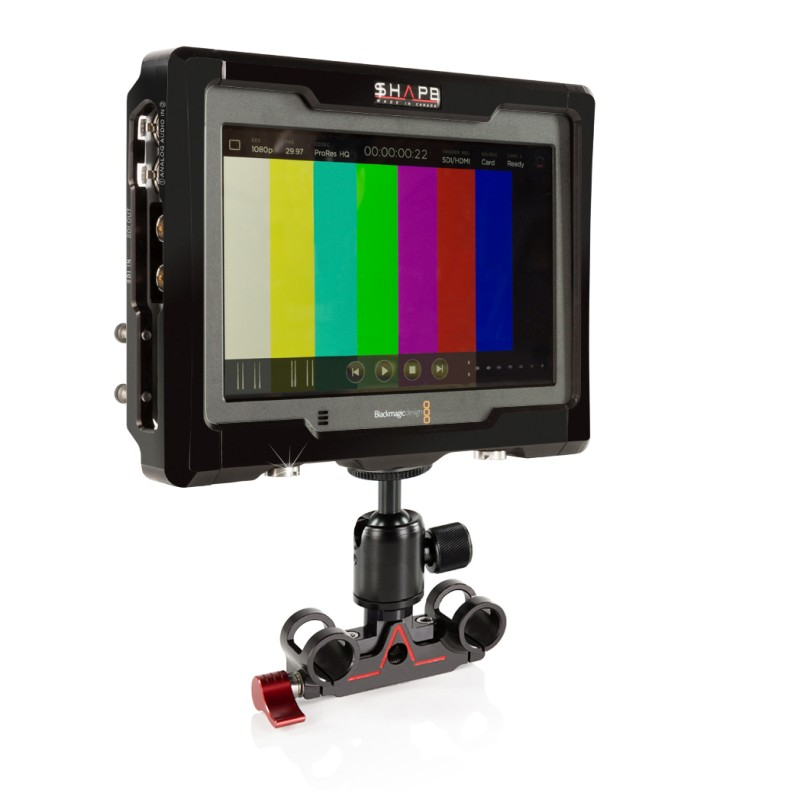 BMD VIDEO ASSIST 4k CAGE WITH 15 MM BALLROD