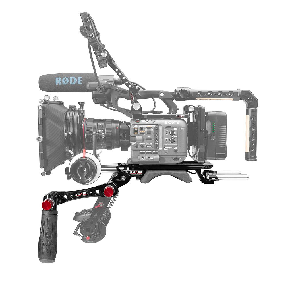 SHAPE Sony FX6 baseplate with handle